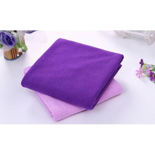 badehåndklæde lilla tilbud